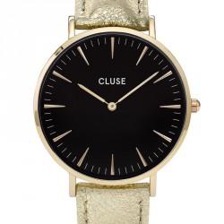 CLUSE Reloj La Bohème Gold Black Gold Metallic