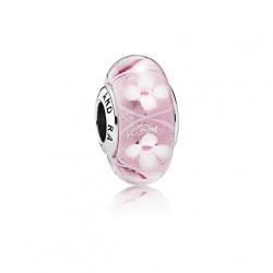 Pandora Charm Murano flores rosa 791665