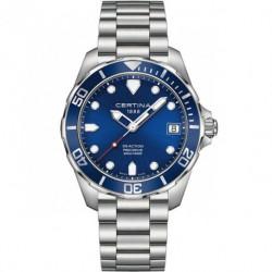 Reloj Certina Ds Diver Action Azul C013.407.11.041.00