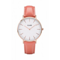 CLUSE Reloj La Bohème Rosé Gold White/FlamingoCL18032