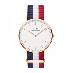 Reloj Daniel Wellington Cambridge DW00100003 dial blanco rosÉ