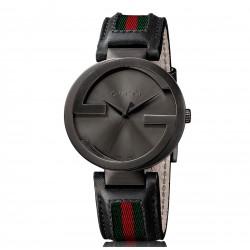 Reloj Gucci Interlocking Negro YA133206