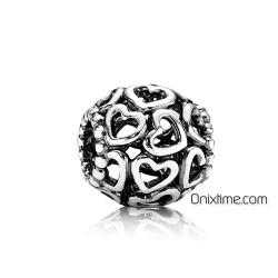 Charm Pandora Abre tu corazón en plata de ley