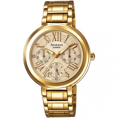 Reloj Casio Sheen SHE-3034GD-9AUER