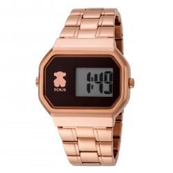 Reloj Tous D-Bear acero IPRG rosé digital 600350305