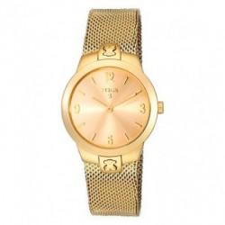 Reloj Tous MESH acero IP dorado 500350330