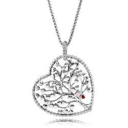 Pandora Collar Plata Árbol del amor