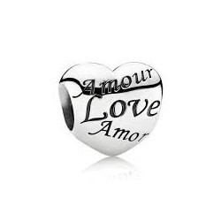 Charm Pandora Corazón Amor 791111