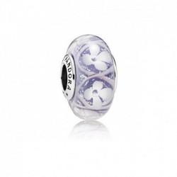 Pandora charm cristal murano 791667 Campo de Flores Morado