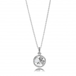 Pandora Collar Plata ley Corazones de Amor 390405CZ-70