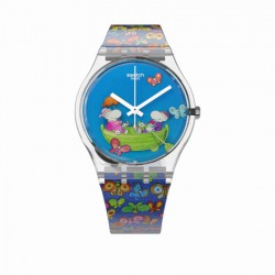 Reloj Swatch PLANET LOVE GZ307S