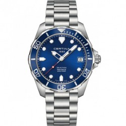 Reloj Certina Ds Diver Action Azul C013.407.11.041.00