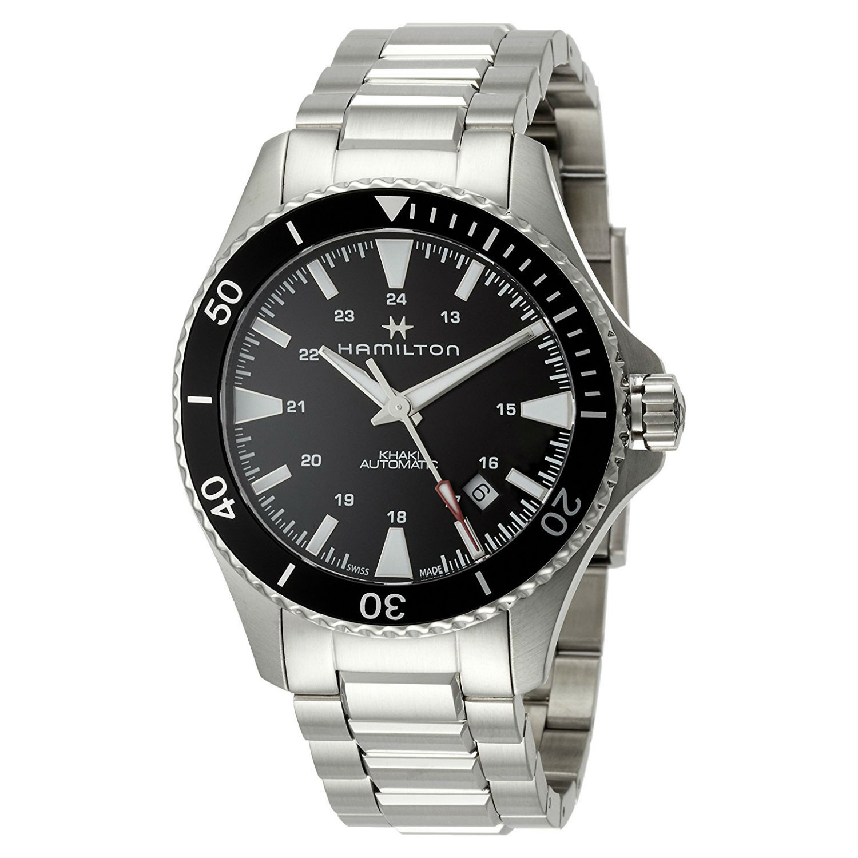 6d3b1f4ea99f Reloj Hamilton Khaki Navy Scuba Automático H82335131 - www.onixtime.com -  Venta Online de Relojería y Joyería