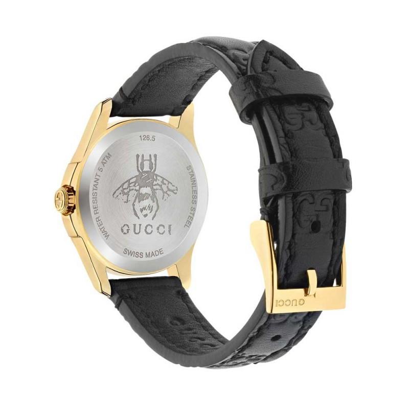 dea681f59aaf Reloj Gucci G-Timeless YA126581 señora dorado piel - www.onixtime ...