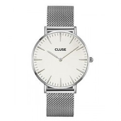 CLUSE Reloj La Bohème Brazalete Plateado CL18105