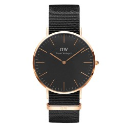 Reloj Daniel Wellington DW00100148 Classic All Black Rosé 40mm