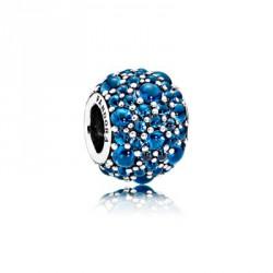 Charm Pandora Gotas Brillantes 791755NLB Azul mejor precio