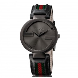 Reloj Gucci Interlocking Negro YA133206
