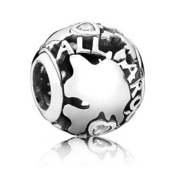 Pandora Charm plata AROUND THE WORLD 791718CZ