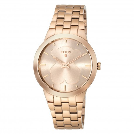 Reloj Tous 500350310 B-Face acero IP Rosé Gold