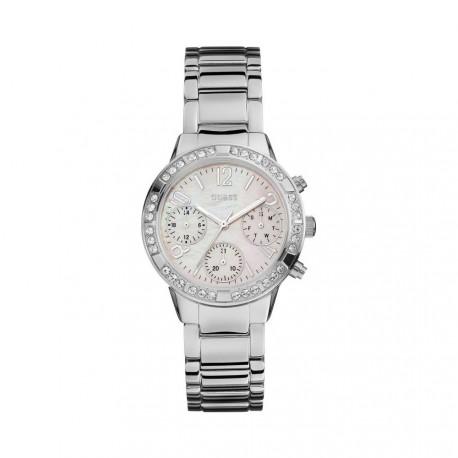 Reloj Guess Mini Glam Hype señora acero