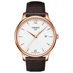 Reloj TISSOT TRADITION ROSE GOLD T063.610.36.037.00
