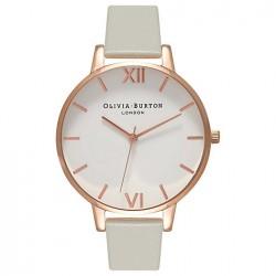 Reloj Olivia Burton señora Big White Rosé