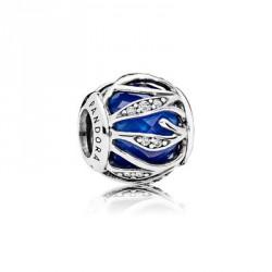 Pandora Charm Plata Natraleza Radiante Azul 791969NCB