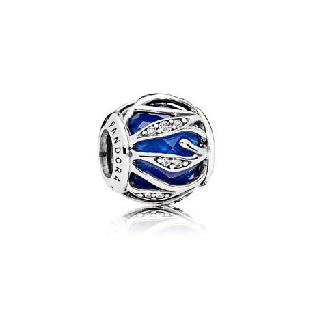 Pandora Charm Plata Natraleza Radiante Azul