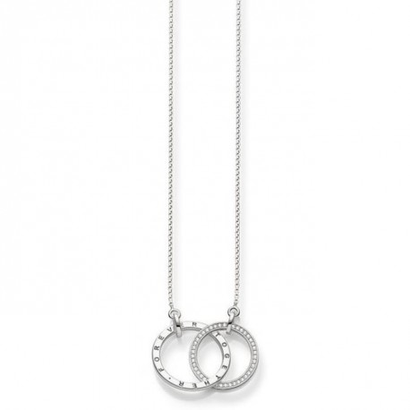GARGANTILLA THOMAS SABO 'FOREVER TOGETHER' KE1489-051-14-L60V