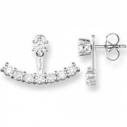 "PENDIENTES THOMAS SABO ""EAR JACKETS BLANCO"""