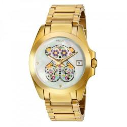 Reloj Tous Drive Sugar acero IP dorado 500350225