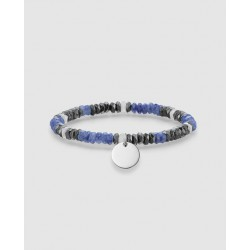 PULSERA THOMAS SABO LOVE BRIDGE MULTIPIEDRA JASPE AZULES