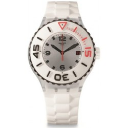 Reloj Swatch Blanca Sbuba Libre Collection