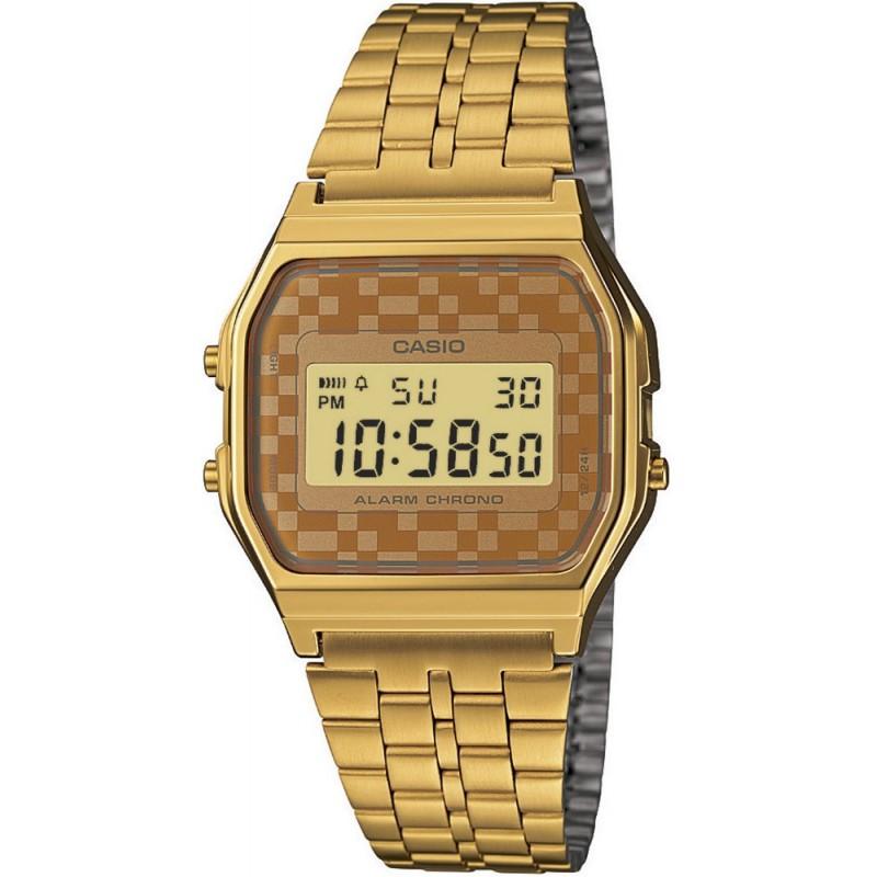 ccb77680b295 Reloj Casio retro digital dorado - www.onixtime.com - Venta Online ...