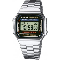 Reloj Casio retro digital acero caballero