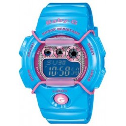 Reloj Casio Baby-G digital azul
