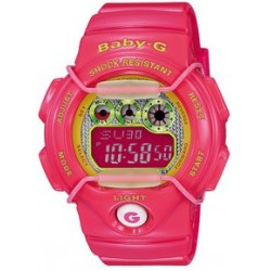 Reloj Casio Baby-G digital rosa