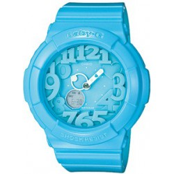 Reloj Casio Baby-G analógico y digital hearts blue