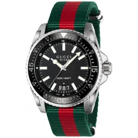 Reloj Gucci Dive Nylon