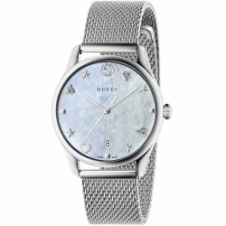 RELOJ GUCCI G TIMELESS MADREPERLA 38MM ACERO