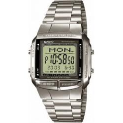 Reloj Casio Databank acero digital