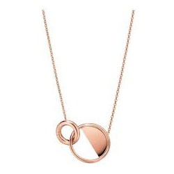 COLLAR CALVIN KLEIN LOCKED ROSE GOLD