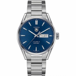 TAG HEUER CARRERA AZUL CALIBRE 5 DAY-DATE