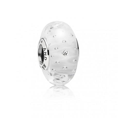 Charm Pandora Burbujas cristal blanci circonitas 791617CZ