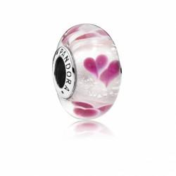Pandora Charm Murano Corazones Salvajes 791649