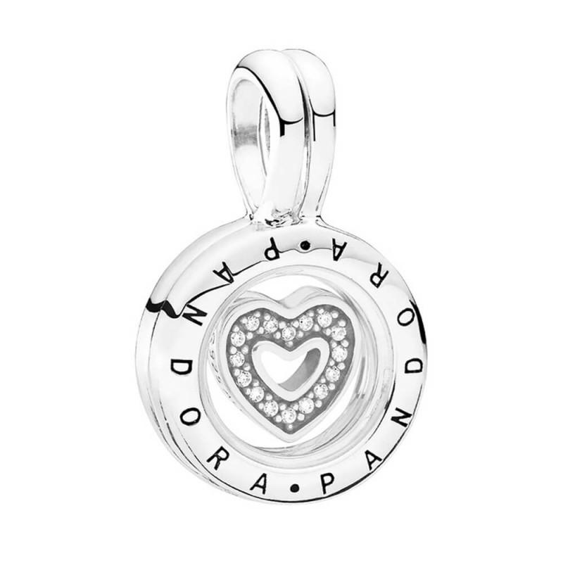 294a119b2169 Charm Pandora plata Locket corazón circonitas 792144CZ - www ...