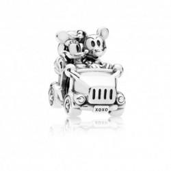 Pandora Disney Charm Coche Vintaje Mickey y Minnie
