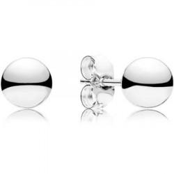 Pendientes Pandora plata Esferas Clásicas