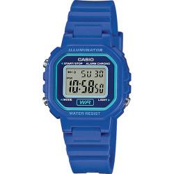 Reloj Casio Classic Digital pequeño azul LA-20WH-2AEF